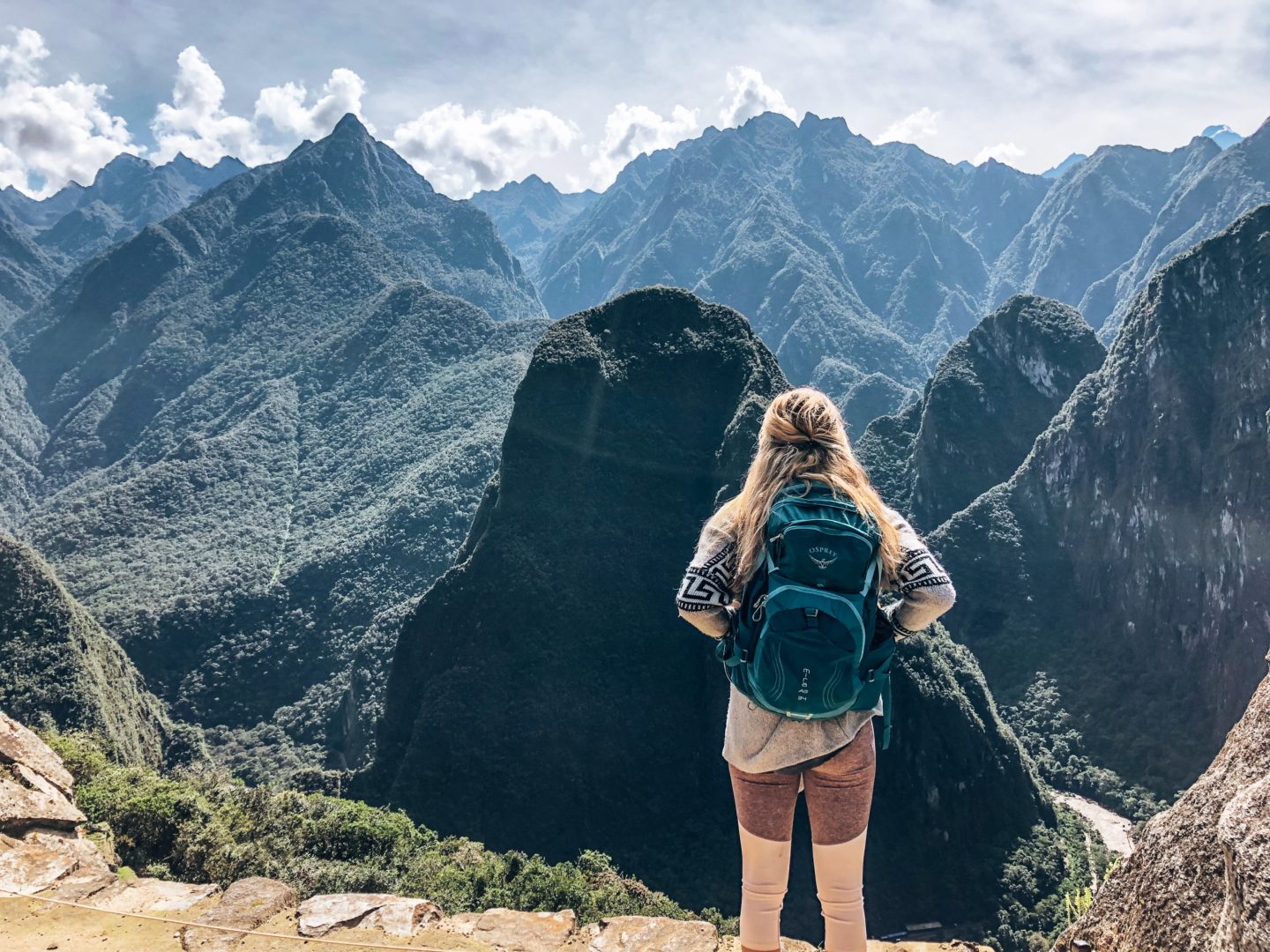 """The kind of views you don't see when you google """"Machu Picchu"""". Breathtaking views of the mountains surrounding the historical site of Machu Picchu."""