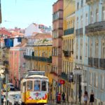 Charming alleyways and trolley cars of Lisbon