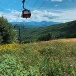 Gorgeous mountain views overlooking Stowe Vermont