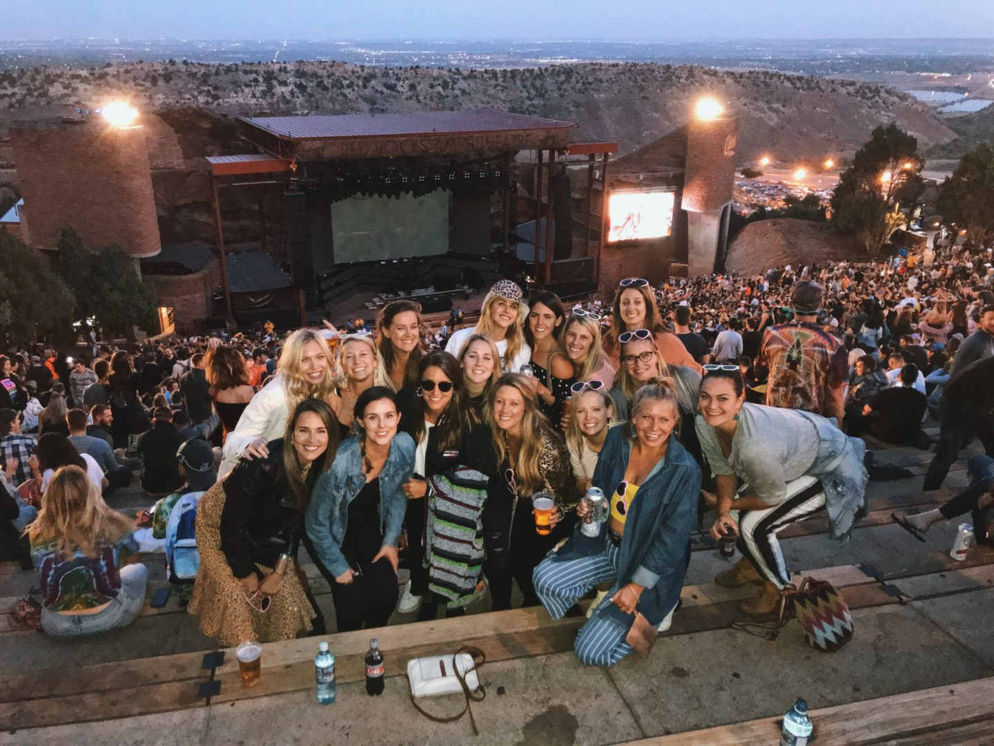 The perfect bachelorette weekend activity right outside of Denver. Visit the Red Rocks Amphitheater and see one of your favorite bands while overlooking the red rocks at sunset.