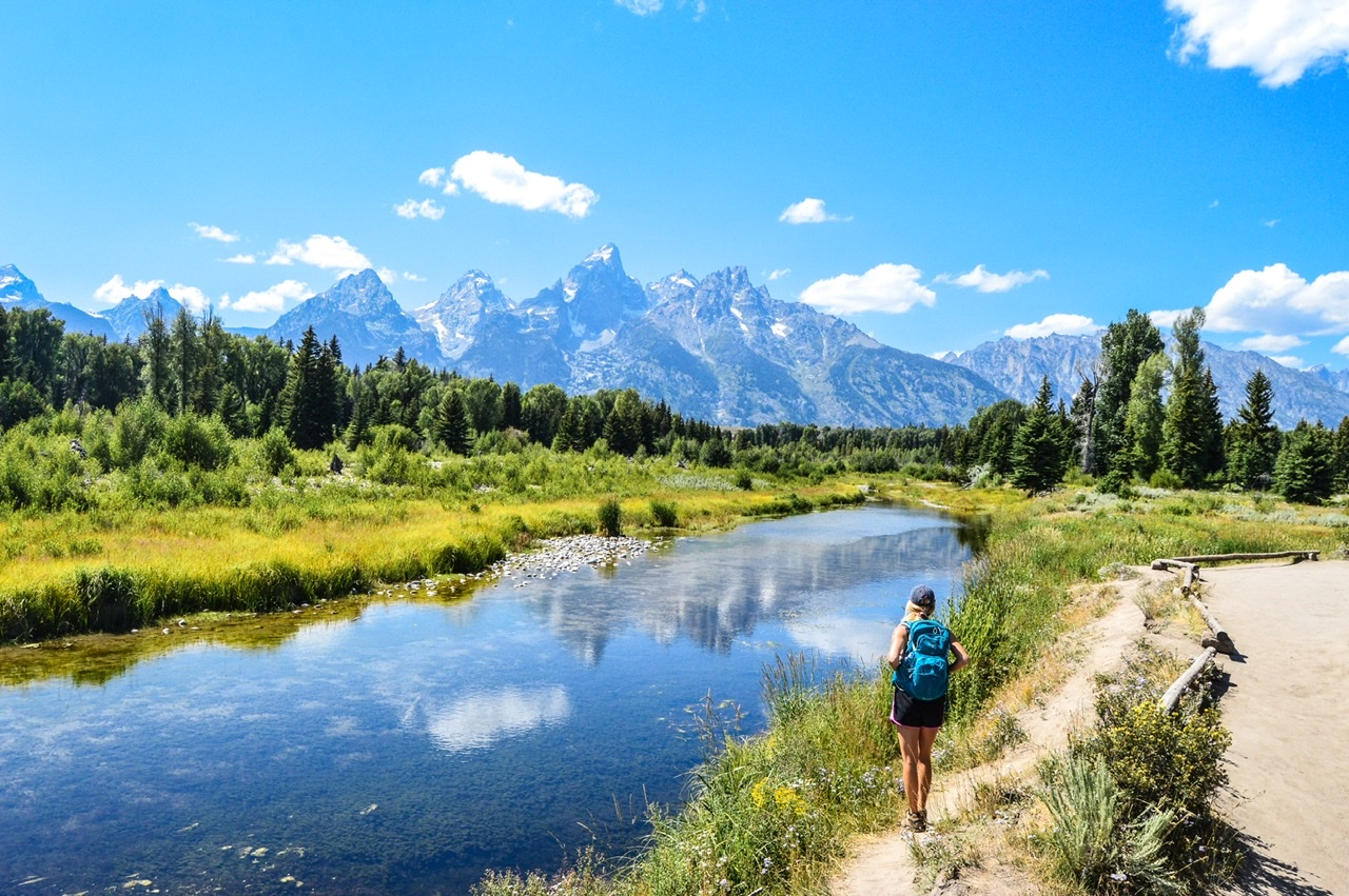 Visiting Jackson Hole Wyoming in the Summer