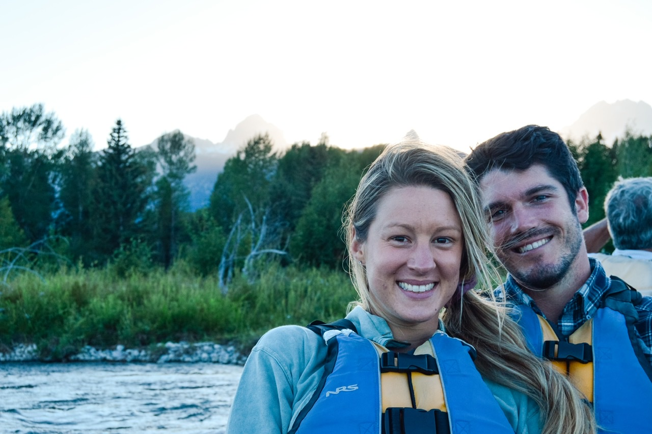 scenic boat ride down Snake River for sunset