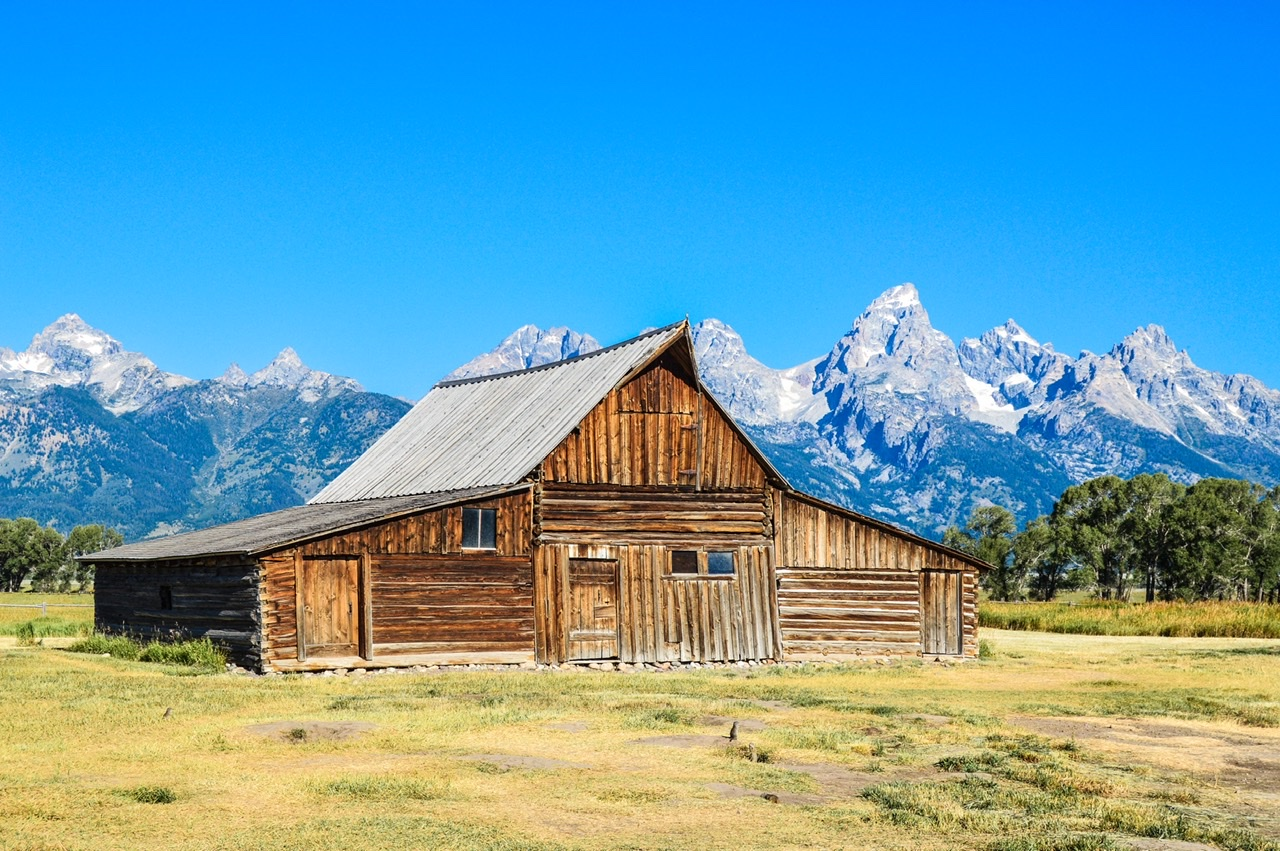 Mormon Row and the most photographed barn in the country outside of Jackson Hole
