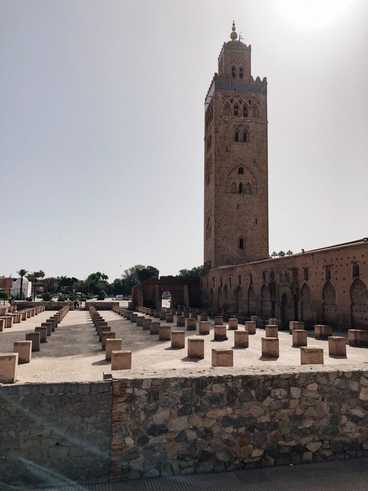 The beautiful Koutoubia in Marrakech