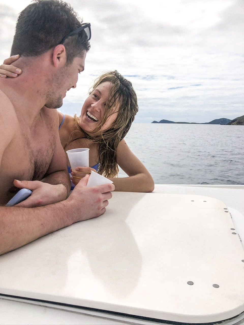 There is nothing that beats a boat day hopping from island to island in the Virgin Islands