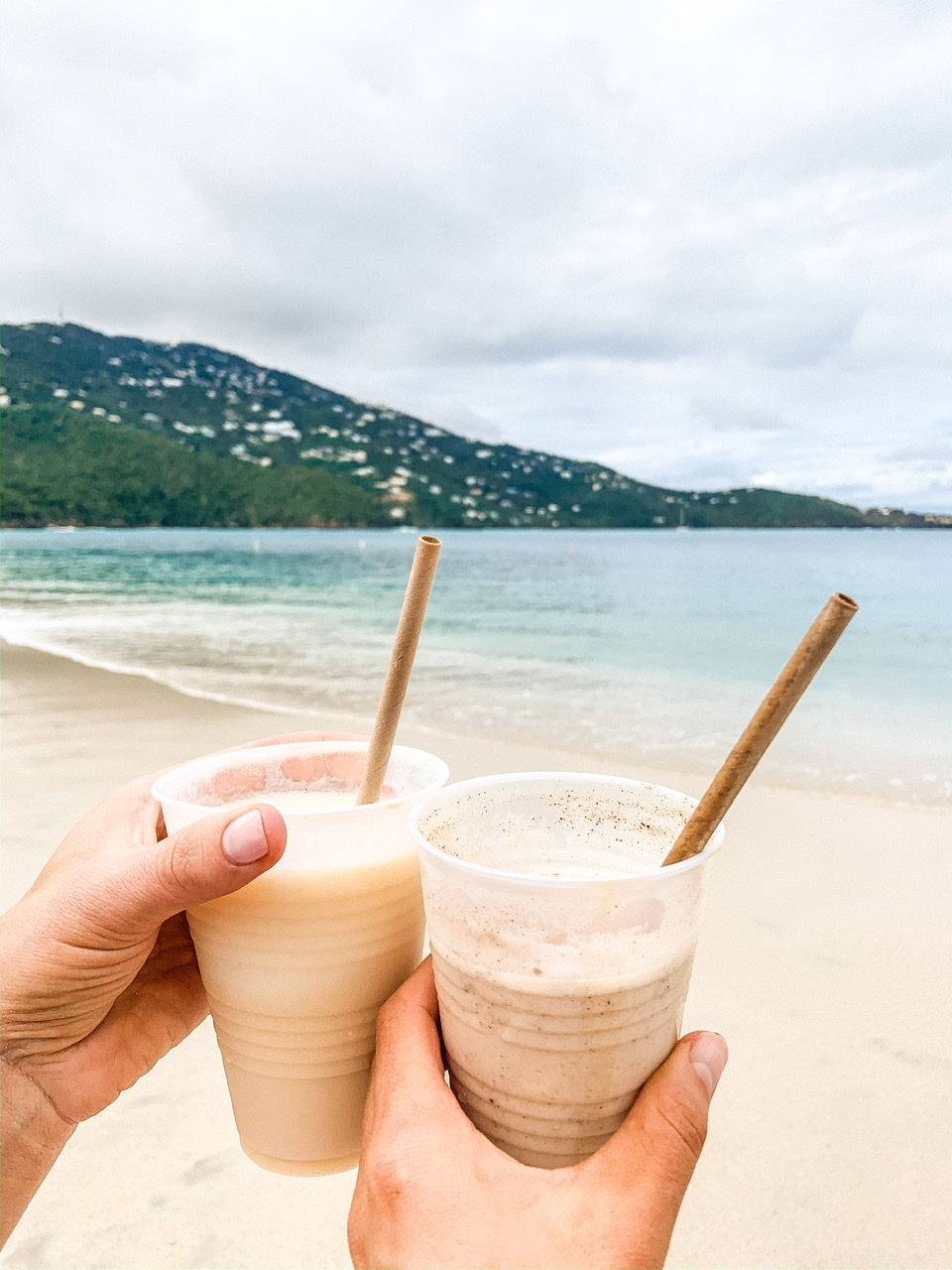 Frozen Cocktails at the Magens Bay Beach Bar