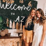 Bachelorette weekend at our boho-trendy airbnb in Scottsdale Arizona