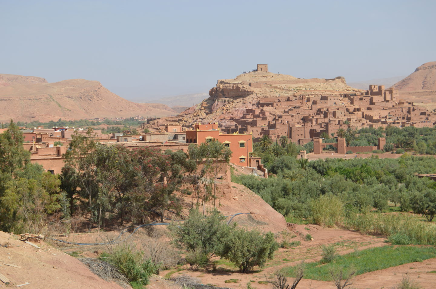 The gorgeous views overlooking Ben Ait Haddou. These scenes are familiar if you have watched the Game of Thrones.