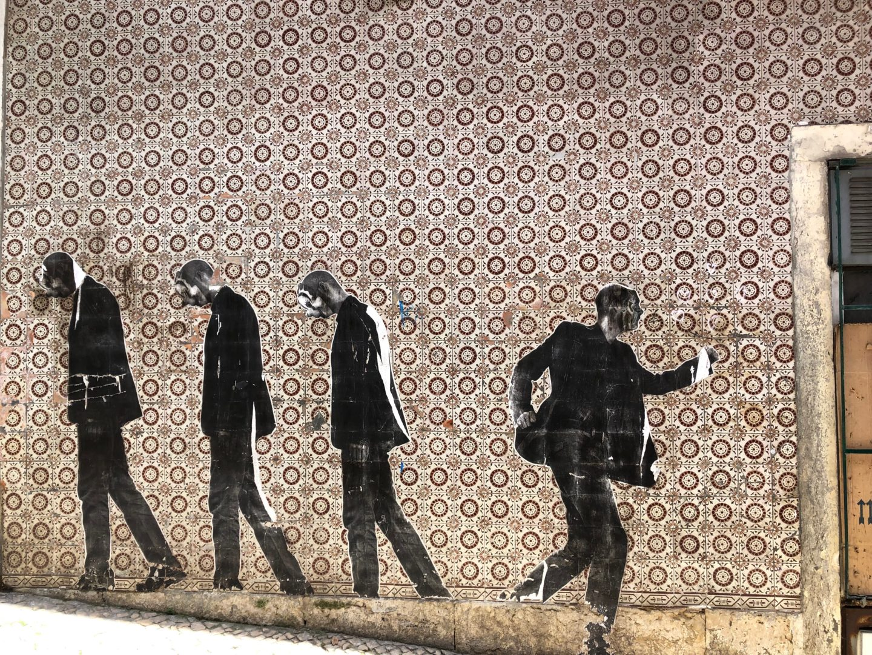 Wall Art in Lisbon Portugal