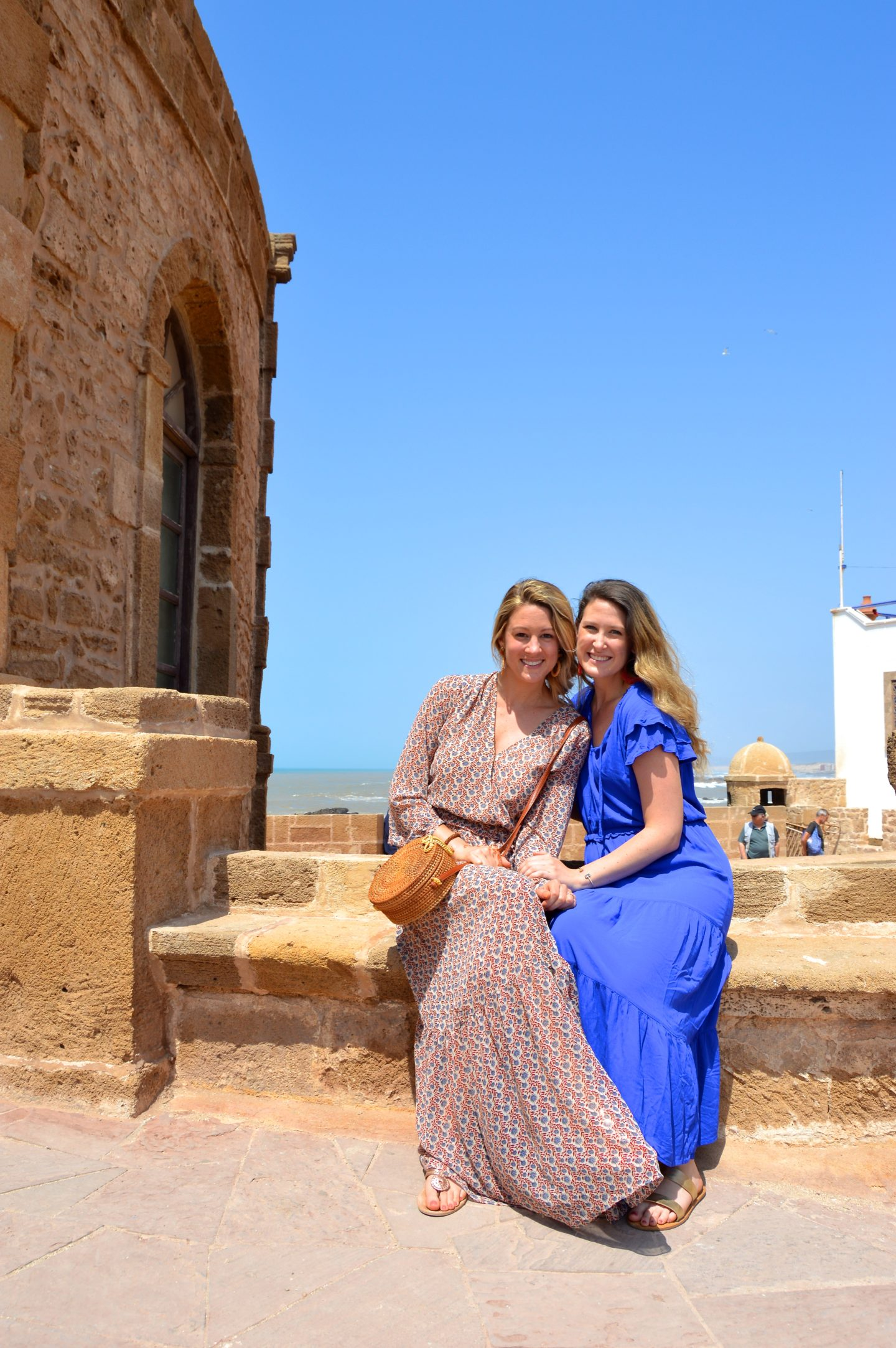 Old and new friends of We Are Travel Girls getaway in Morocco.