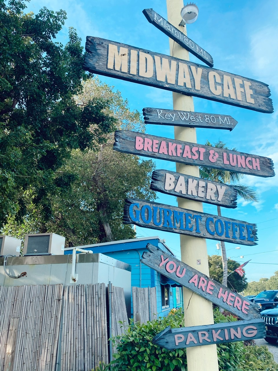 Midway Cafe is the perfect healthy breakfast or lunch spot to grab a smoothie in Islamorada Florida
