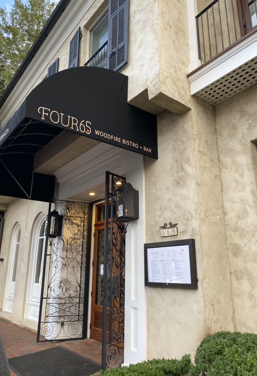 Four65 Bistro in downtown Highlands